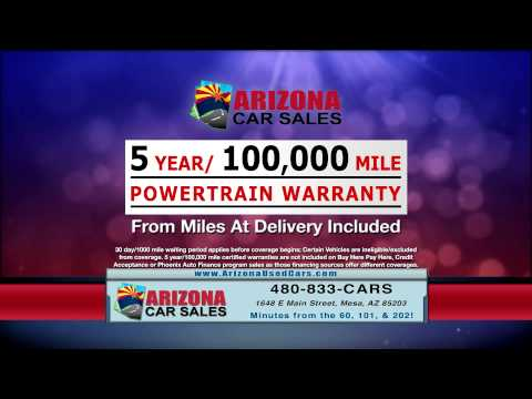 Used cars for less at Arizona Car Sales in Mesa, Arizona!