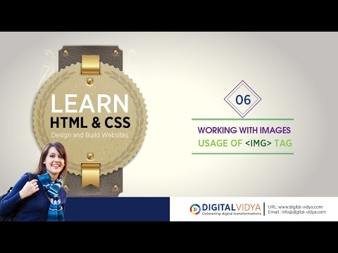 [Telugu Tutorial] Adding Images in Web Pages - Using IMG Tag.