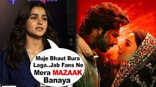 Alia Bhatt EMOTIONAL Reaction After Fans INSULTS Her Seeing Kalank Movie