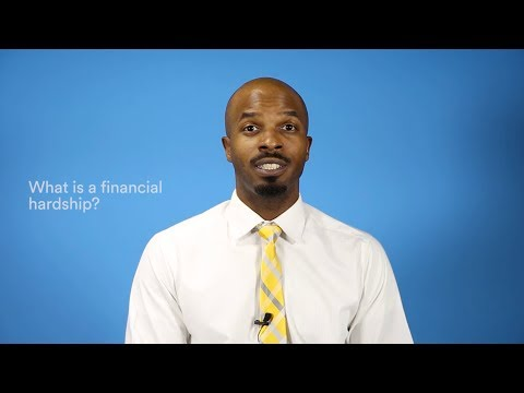 What is a Financial Hardship?