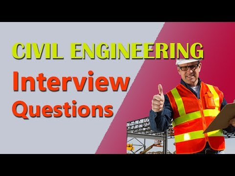 Civil Engineering Interview Questions (with answers)