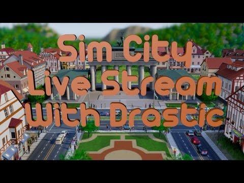 Sim City Live Stream Sandbox Mode