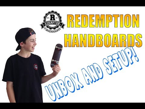 My first time handboarding! [Redemption unboxing & setup]