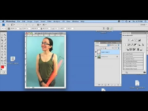 How to Make the Lightsaber Blade Effect on a Mac : Internet & Mac Tutorials