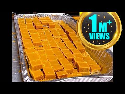 How to make Besan or Vesan Barfi Recipe at Sikh Temple USA