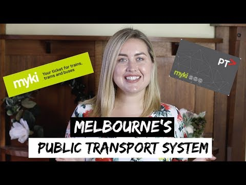 How To Use Public Transport in Melbourne | Using MYKI