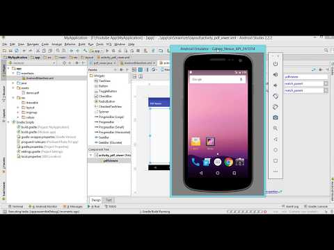 How to create PDF Viewer - Android Studio