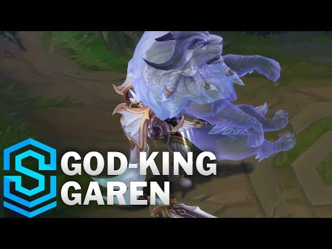 God-King Garen Skin Spotlight - League of Legends