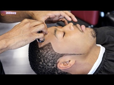 BARBER TUTORIAL: HOW TO DO A CRISPY LINE UP