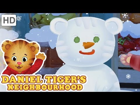 Daniel Tiger 🎵 Indoor Winter Wonderland! (SONG) 🎵