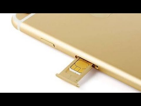 How to Insert and Remove SIM Card in iPhone 6S (Plus) and all other Apple devices including iPad Pro