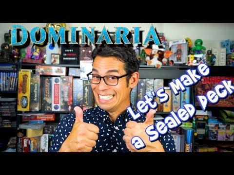 Dominaria - Let's Make a Sealed Deck!