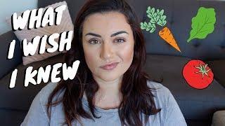 Advice for New Vegans of 2019