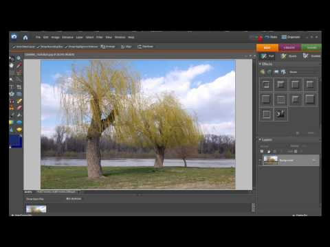 How To Convert Color Image To Black And White In Less Than Five Seconds With Photoshop Elements