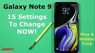 15 Galaxy Note 9 SETTINGS To Change NOW