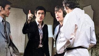 Bruce Lee Shows Chuck Norris High Kicks. And Chuck Didn't Expect This Has Been Filmed