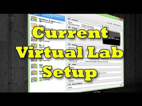 My Current Virtual Lab Setup