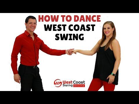 How to dance west coast swing | WCS Beginner