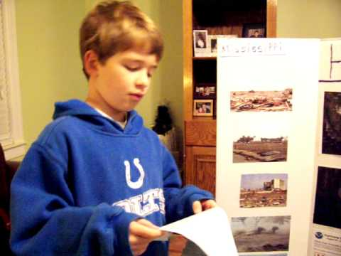 Jack's Hurricane Katrina School Project