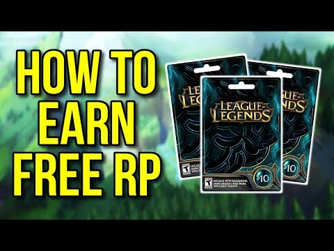 How to earn free RP using PlayVIG - League of Legends