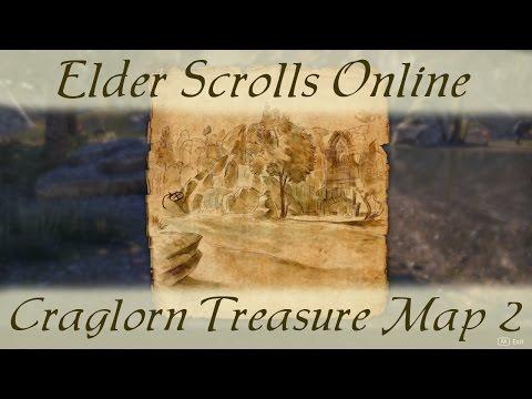 Craglorn Treasure Map 2 [Elder Scrolls Online ESO] ii