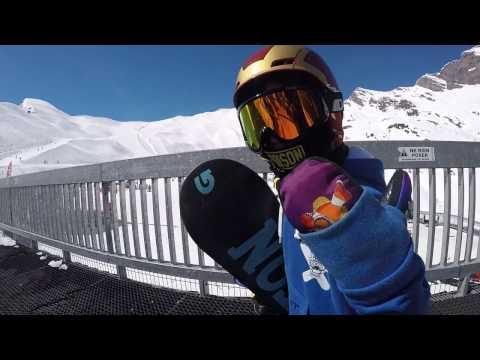 Izan Morales. snowboard kid