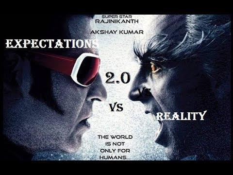 Robot 2.0 ( Expectations Vs Reality ) || Rajinikanth || Lyca Productions - 2018 || pk vines