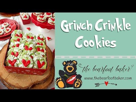Simple Grinch Cookies | The Bearfoot Baker