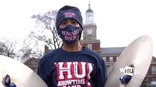 #WHUTtv covers the The Howard University Marching Band for 2021 Inauguration Day Parade