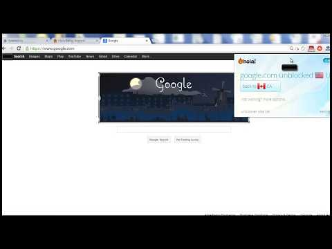 How To Get Google.com in Canada, UK, Australia (And The Rest Of The World)
