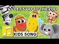 LETS GO TO THE ZOO LARVA KIDS ANIMAL SONG NURSERY RHYME KIDS SONGS 2 Min LEARNING SONGS