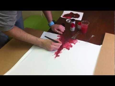 Blood T-shirt.
