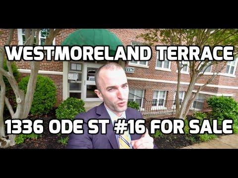 Westmoreland Terrace Arlington | 1336 N Ode St #16 Arlington, VA | Rosslyn Condo for Sale