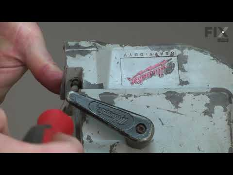 Milwaukee Bandsaw Repair - How to Replace the Front Blade Guide Block