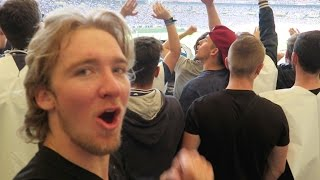 My FIRST GERMAN SOCCER GAME!! *INSANE*