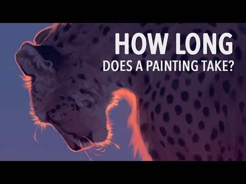 How Long Does it Take to Make a Painting? Speedpaint #2