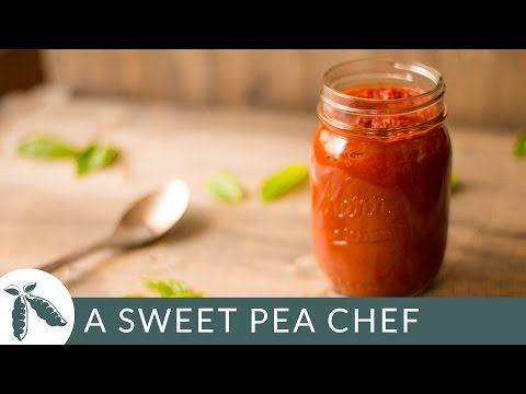 How To Make Tomato Sauce | A Sweet Pea Chef
