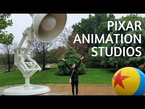 PIXAR ANIMATION STUDIOS TOUR!!