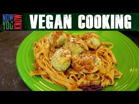 Vegan Meatballs - Vegan Cooking w/ Bobby & Brent