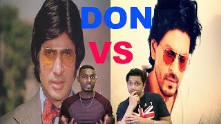 DON  Classic Vs Remake Scene Reaction | Amitabh & Shahrukh | By Stageflix