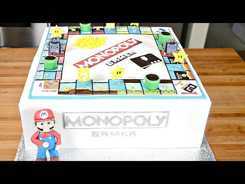 Watch us Make a Monopoly Gamer Cake and Play the Game