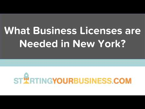What Business Licenses are Needed in New York - Starting a Business in New York