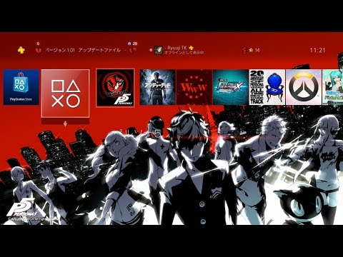 Persona 5 20th PS Store Special Edition Pre-Order Themes