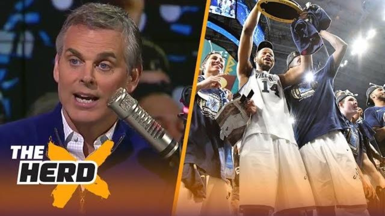 Colin Cowherd reacts after Villanova beat Michigan to win another National Title   THE HERD