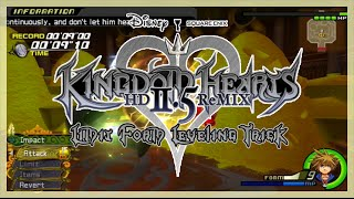 Kingdom Hearts HD 2.5 Remix - How To Level Up Master Form! | Music ...