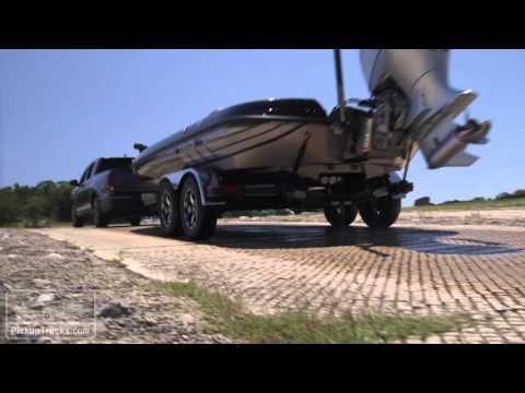 2017 Honda Ridgeline Boat Ramp Test