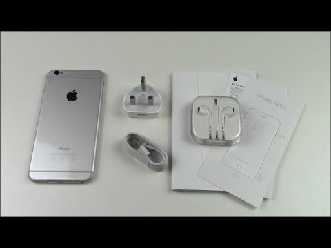 iPhone 6 Plus Silver/White Unboxing