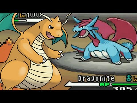 Pokemon Black and White WiFi Battle #99 Lord Dragonite