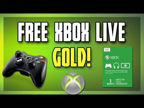 How to get Unlimited Free Xbox Live Gold 1 Month Tutorial (Easy)