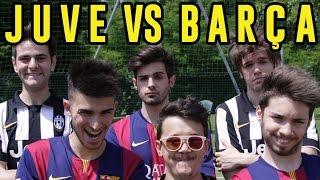 JUVENTUS VS  BARCELLONA - FOOTBALL CHALLENGE (Juventus-Barcellona 1-3) - iPantellas